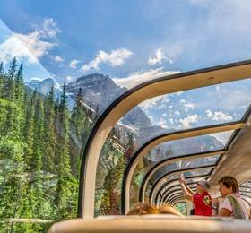 Banff - Rocky Mountaineer Rail Journey and Hotel Stay