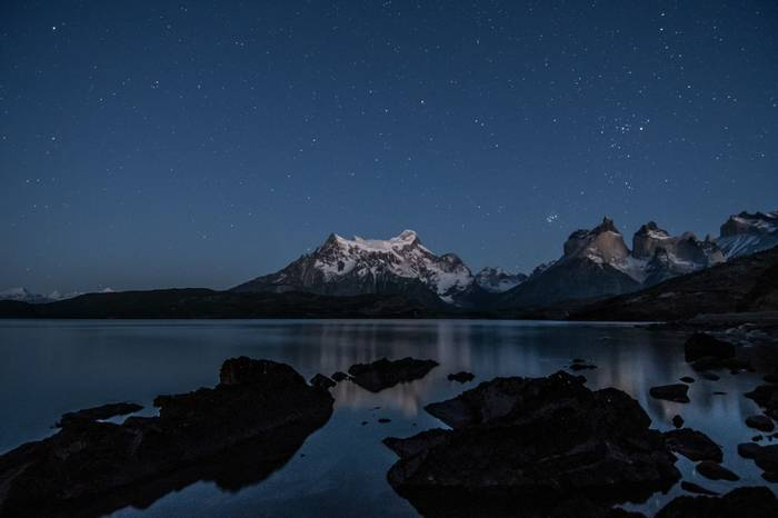The Andes by Starlight (Tim Melling)