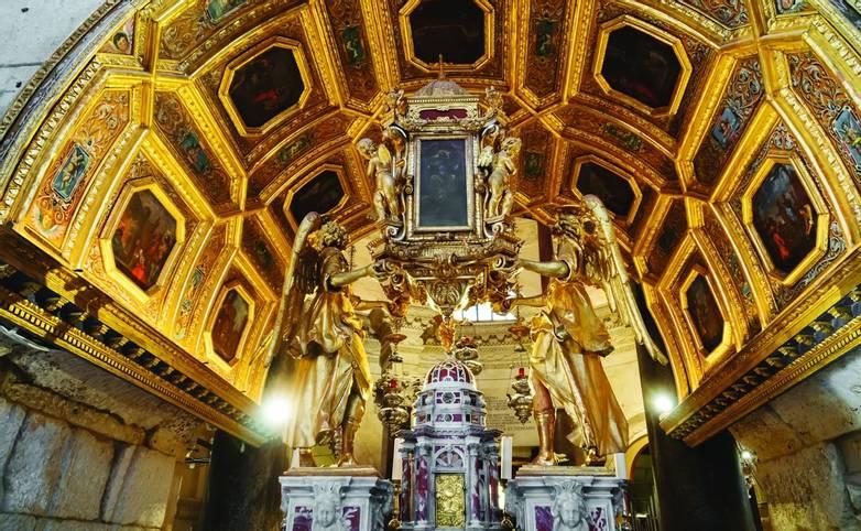 Split, Croatia, 19.06.2018 - Inside of Cathedral of Saint Domnius.