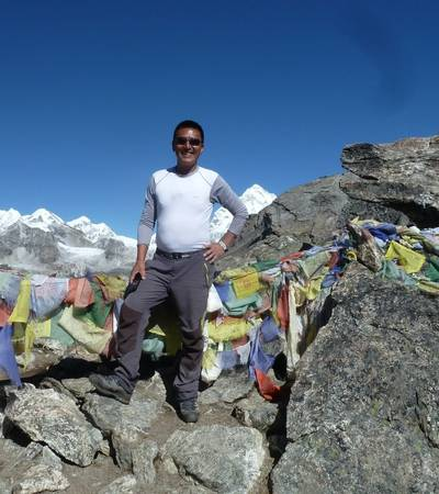 Summit of Gokyo Ri