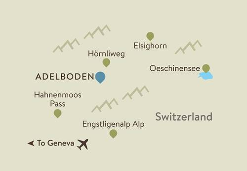 Bernese Oberland Itinerary Map