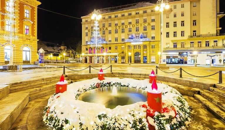 Shutterstock 248319442 Zagreb Central Square Of Ban Josip Jelacic