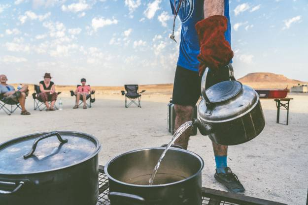 Photo competition - Oasis Overland group camping in the desert