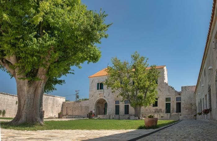 Croatia (Back Up Option)   Maskovica Han (Hotel) Courtyardshutterstock 1126082363