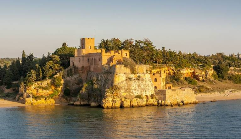 Shutterstock 208697950 Sao Joao Do Arade Castle. A Medieval Fortress, Located At The Mouth Of The Arade River