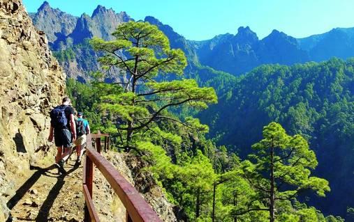 Walking on the Island of La Palma