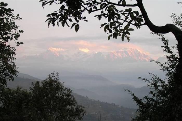 Annapurna range from Pokhara