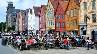 Hanseatic Wharf Waterfront, Bergen
