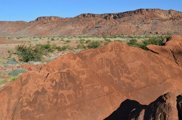 Petroglyphs At Twyfelfontein