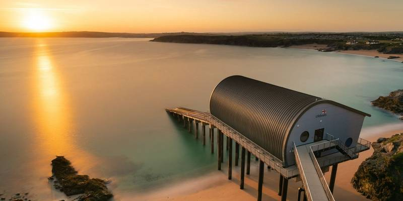 Padstow Lifeboat Station, Cornwall