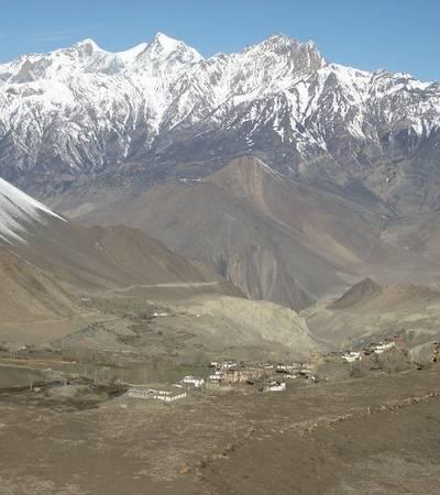 Jharkot village