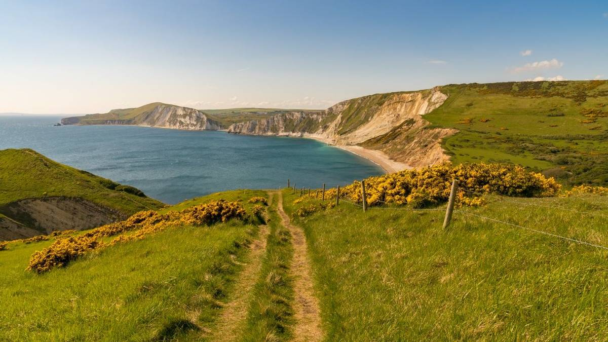 Worbarrow Bay, Jurassic Coast, Dorset, UK