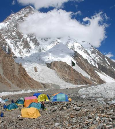 Broad Peak Base Camp (4,960m)