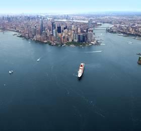 Depart New York