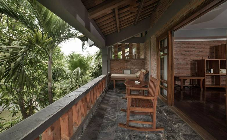 Vietnam - Accommodation - Pilgrimage Village - Deluxe-Balcony.jpg
