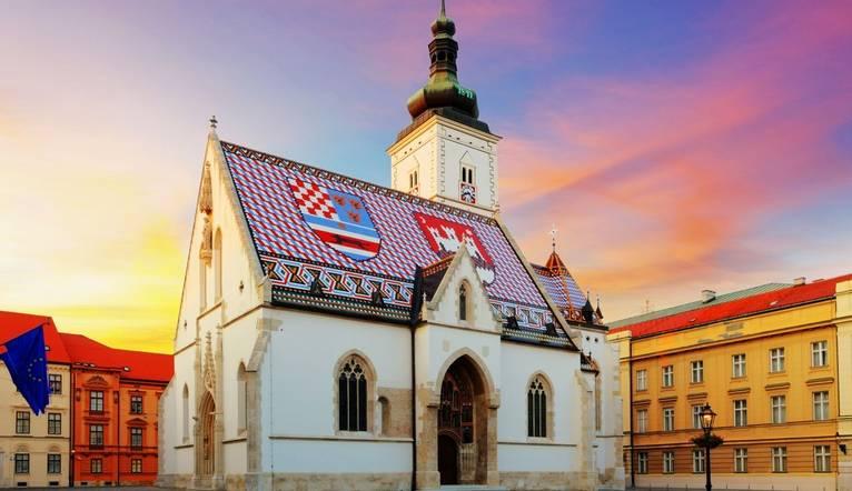 Shutterstock 145023952 Zagreb Church   St Mark