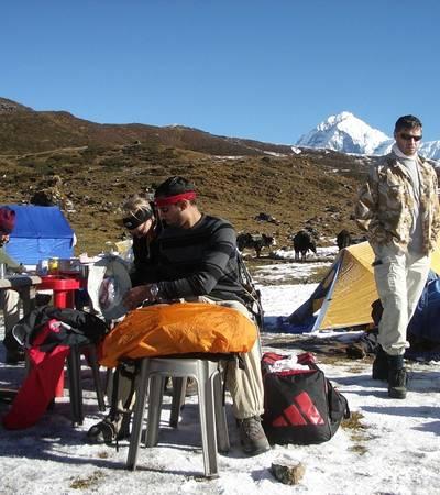 Dzongri  camp(3,990m)