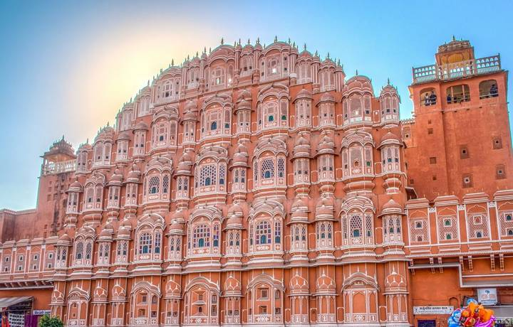The Hawa Mahal, the palace of the wind, is Jaipur's most popular sight. From the many windows the royal family could observe…