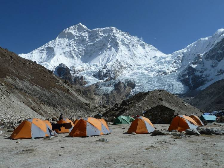 Makalu Base Camp in Nepal