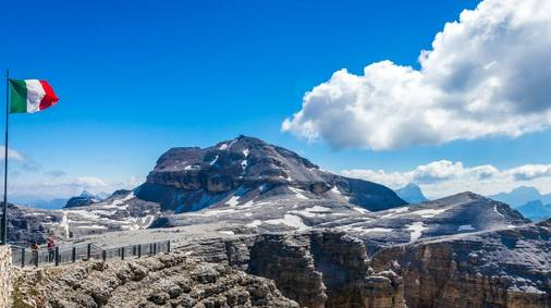 The Dolomites High Routes Guided Walking Holiday