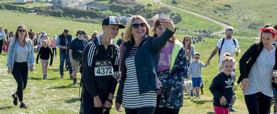 Walk the Wight charity fundraising day