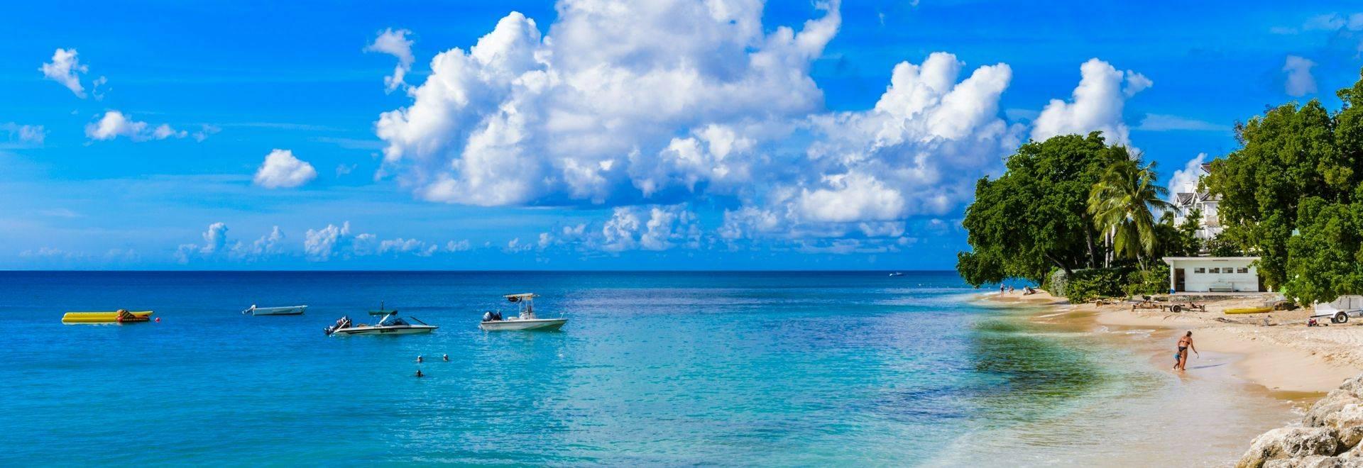 Shutterstock 168014735 Coast Of The Carribean Sea, Bridgetown