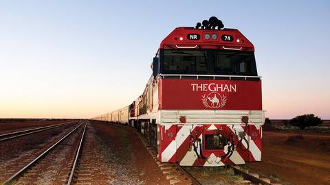 The Ghan Expedition Destinations Journey 1