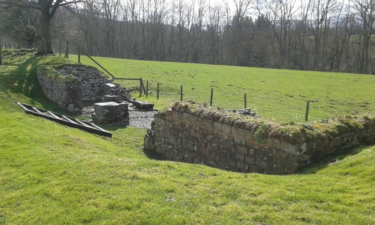 Y Gaer Roman Fort S Gate 2nd April 2019 (1).jpg
