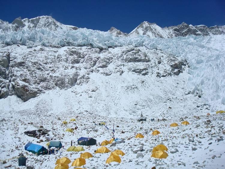 Makalu Advanced Base Camp at 5,650m