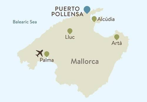 Mallorca Itinerary Map