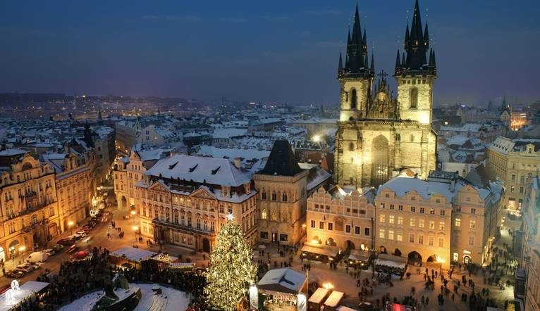 Shutterstock 67546762 Old Town Square In Prague