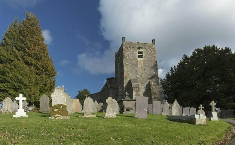 Tissington, Derbyshire, UK: October 2018: St Marys Church