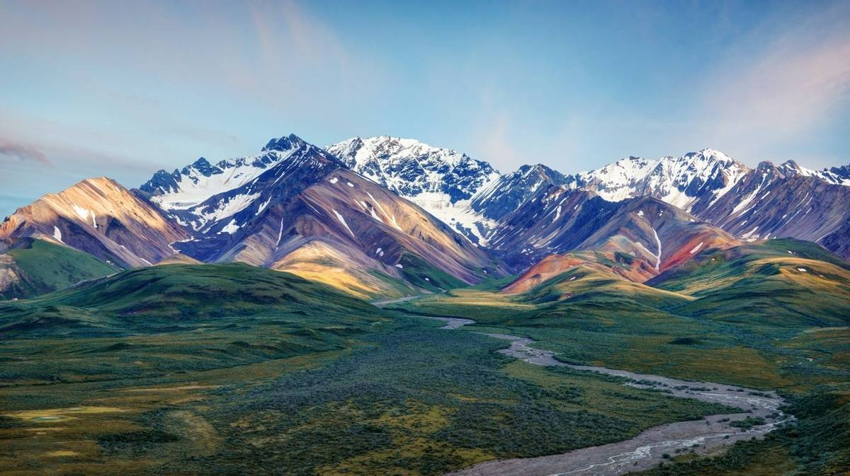 Alaska Denali National Park taken in 2015
