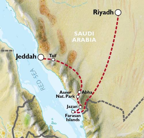JEDDAH to RIYADH (11 days) Oasis Caravan
