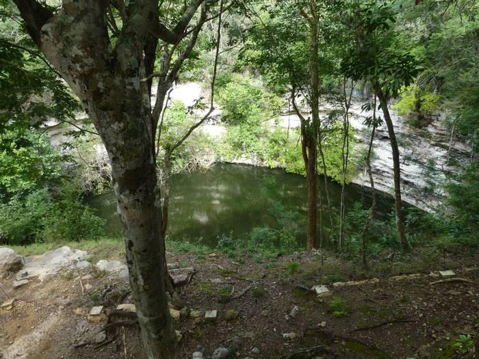 Sacred Cenote at Chichen Itza (Kerrie Porteous)