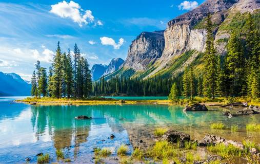 Among the Canadian Rockies