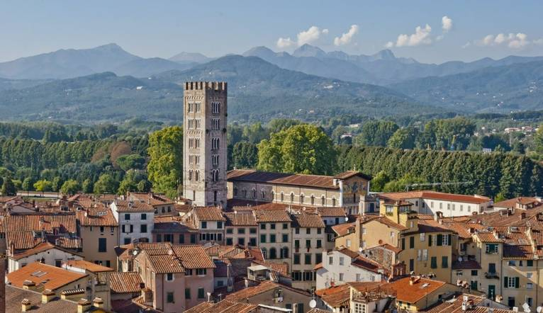 Dreamstime M 25102760 Lucca Panoramic View, Tuscany, Italy