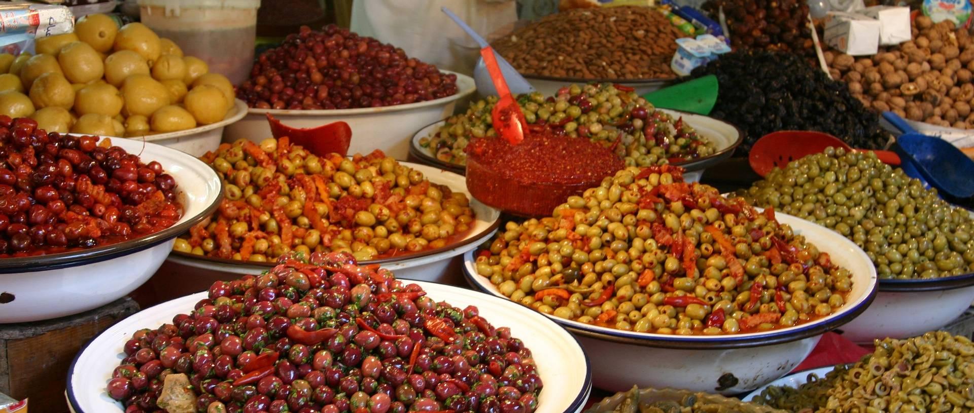 Olives, Fes Medina