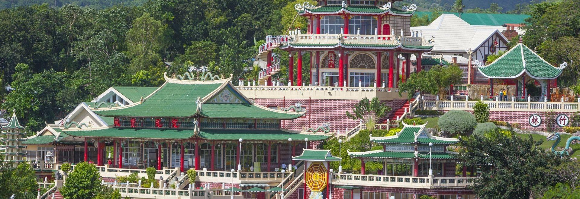 Cebu Taoist Temple, Cebu City, Cebu, Philippines.