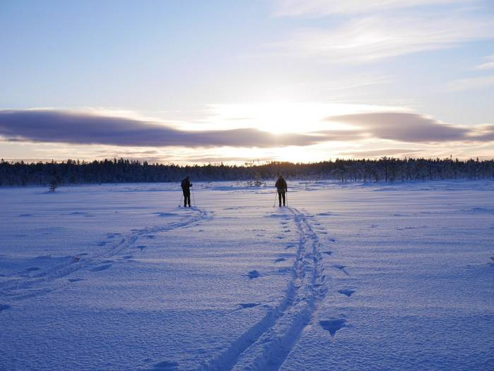 Skiing Lapland 1
