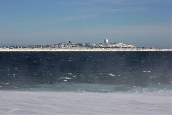 Barents sea whitecaps (Jennifer Horn)