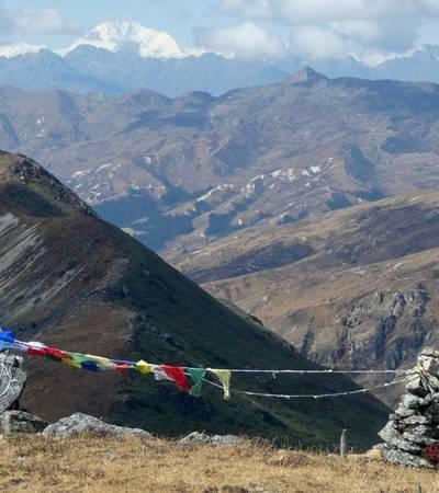 View from Haa Valley Pilgrim trek