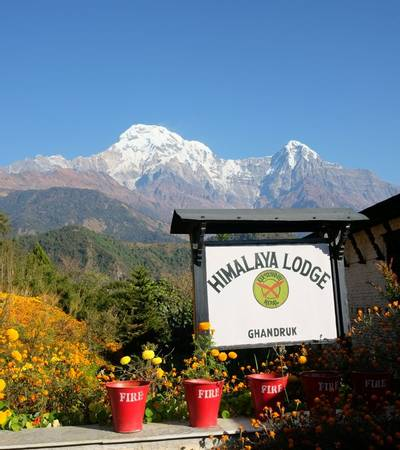 Himalaya lodge in Ghandruk