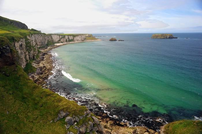 Ireland Coast near Giant's Causeway