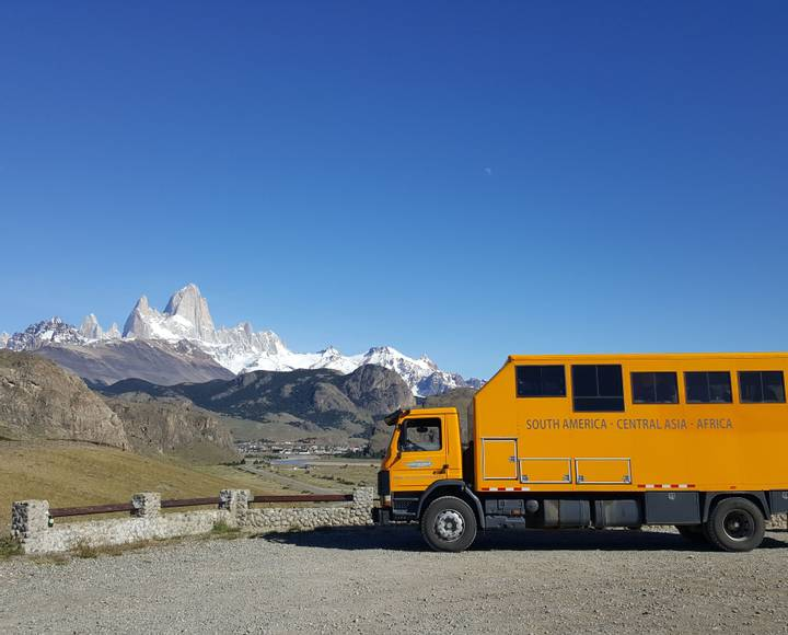 South America Overland Expeditions