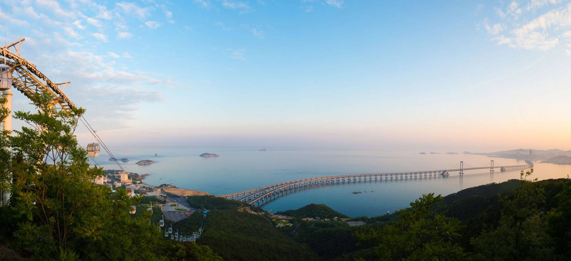 18 Day   Dalian  Bay Cross Sea Bridge  Itinerary Desktop