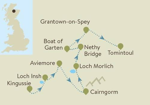 Cairngorms Map