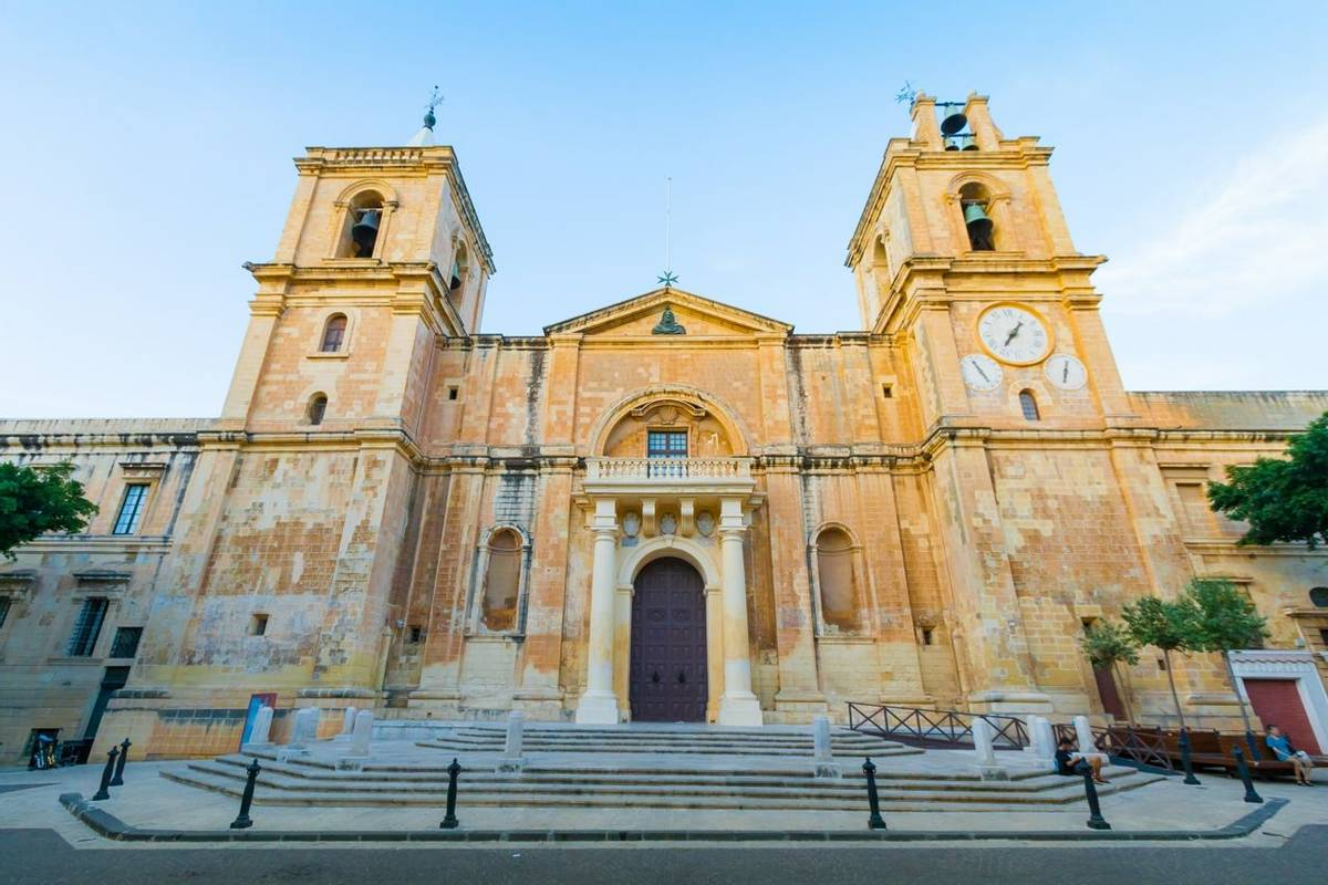 The St John's Co-Cathedral in Valletta, Malta