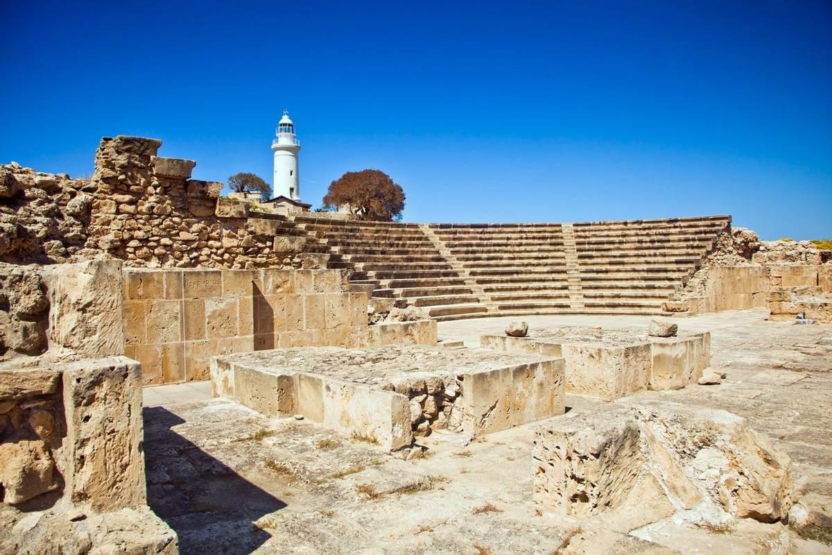 Roman Amphitheatre in Paphos