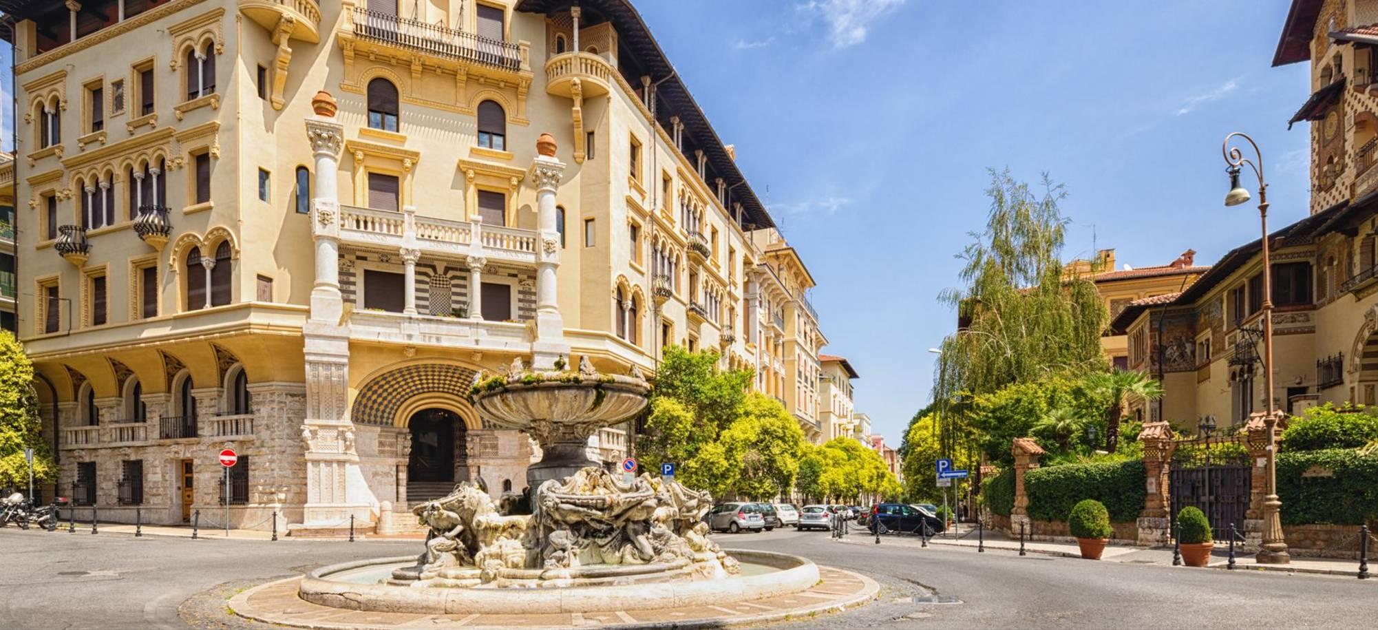 Rome   Coppede Quarter   Itinerary Desktop